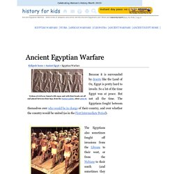 Ancient Egyptian Warfare for Kids!