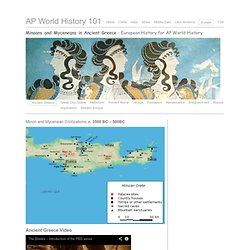 Ancient Greece European History AP World History