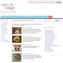 Ancient Greece Crafts