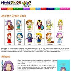 Ancient Greek Gods & Goddesses Facts For Kids