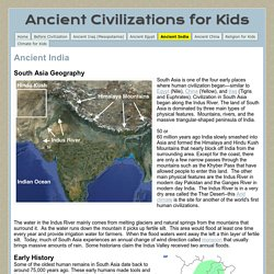 Ancient India - Ancient Civilizations for Kids