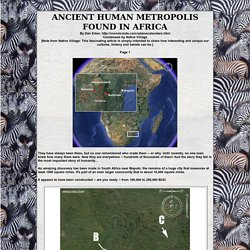 Ancient Human Metropolis Found in Africa is 200,000 years old!