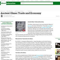 Ancient Olmec Trade and Economy