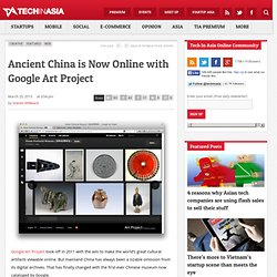 Ancient China is Now Online with Google Art Project