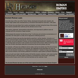 Ancient Roman Laws