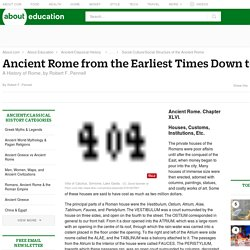 Ancient Rome - Ancient Rome from the Earliest Times Down to 476 A.D.