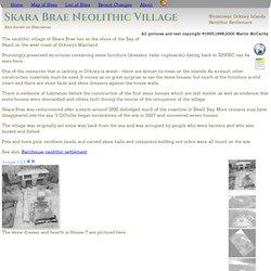 Ancient Scotland - Skara Brae Neolithic Village
