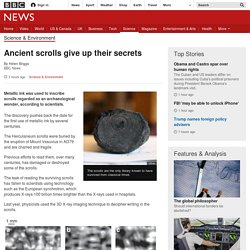 Ancient scrolls give up their secrets