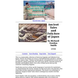 Ancient Tales and Folk-lore of Japan Index