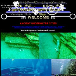 Ancient underwater cities being found that are 10,000 years old
