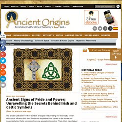 Ancient Signs of Pride and Power: Unravelling the Secrets Behind Irish and Ce...
