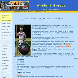 Woodlands junior homework help ancient greece