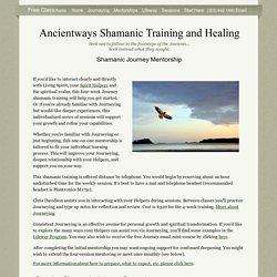Ancientways Shamanic Training