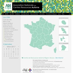 ANCRA - Carte des CRA