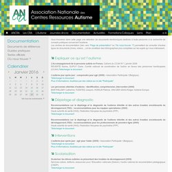 ANCRA - Guides pratiques autisme