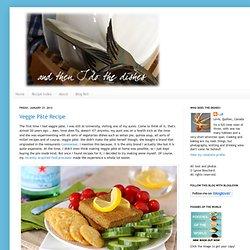 Veggie Pâté Recipe