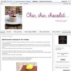 Andalousie chocolat et citron