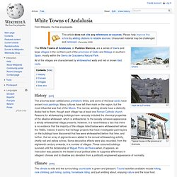 White Towns of Andalusia