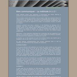 Marie Andersen - Bien communiquer - La méthode 0-1-2 !