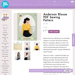Anderson Blouse PDF Sewing Pattern - Sew Over It