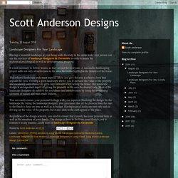 Landscape Designers For Your Landscape