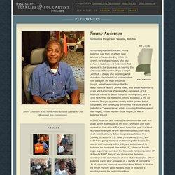 Jimmy Anderson: Mississippi Folklife and Folk Artist Directory