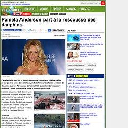 Pamela Anderson part à la rescousse des dauphins