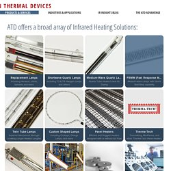 Quartz Tube Lamps, Panel Heaters & more...