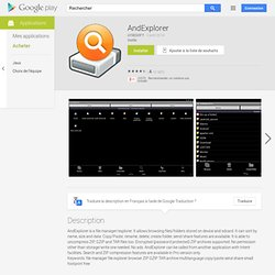 AndExplorer - Apps on Android Market