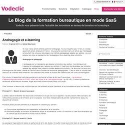 Andragogie et e-learning