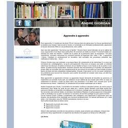 Andre Giordan: apprendre à réviser