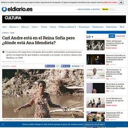 Carl Andre está en el Reina Sofía pero ¿dónde está Ana Mendieta?