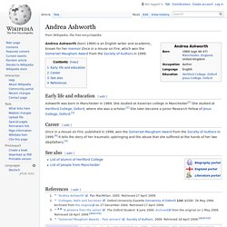 Andrea Ashworth