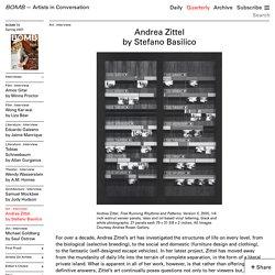 Andrea Zittel by Stefano Basilico