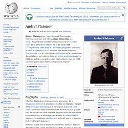 Andreï Platonov