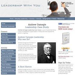 Andrew Carnegie Leadership