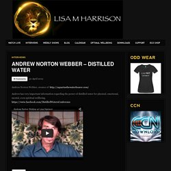 Andrew Norton Webber – Distilled Water