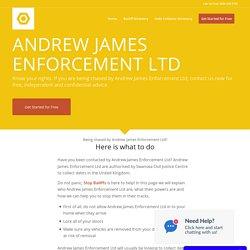 Andrew James Enforcement Ltd - Stop Bailiffs