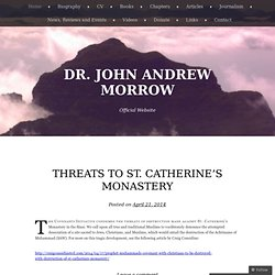 Dr. John Andrew Morrow | Official Website
