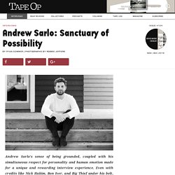 Andrew Sarlo: Sanctuary of Possibility