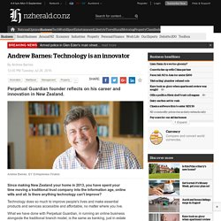 Andrew Barnes: Technology is an innovator