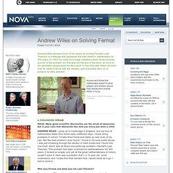 Solving Fermat: Andrew Wiles
