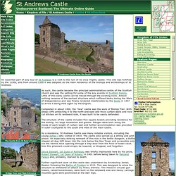 St Andrews Castle Feature Page on Undiscovered Scotland