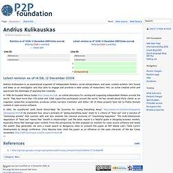 Andrius Kulikauskas