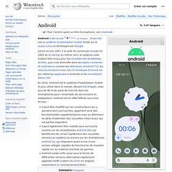 Android - Artcile Wikipedia (FR)