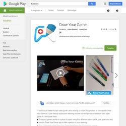 Draw Your Game – Android-alkalmazások a Google Playen