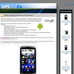 Android 2.2 (Froyo) serait annoncé le 19 mai prochain ?