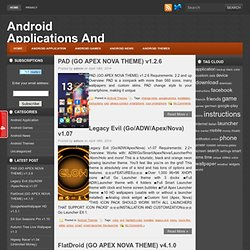 Android Application And Games
