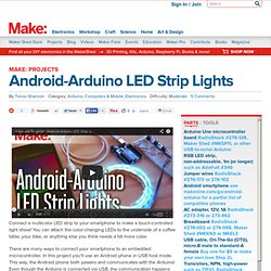 Android-Arduino LED Strip Lights
