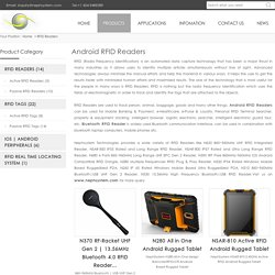 Android RFID Reader - Android/Bluetooth/USB RFID Reader - Nephsystem.com
